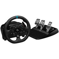 Volan LOGITECH G923, TrueForce Racing Wheel, crni - za PS4/PC