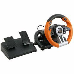 Volan SPEEDLINK Drift O.Z. Racing Wheel  za PC, PS3  crno-narančasti