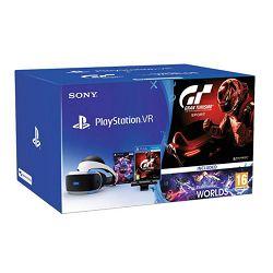 VR naočale SONY PlayStation VR+VR Worlds+Camera v2+Gran Turismo Sport