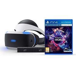 VR naočale SONY PlayStation VR + VR Worlds VCH + Camera v2/PSVR Mk4