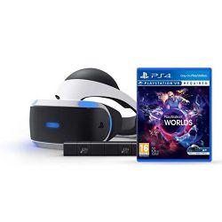 VR naočale SONY PLAYSTATION VR + VR WORLDS + KAMERA