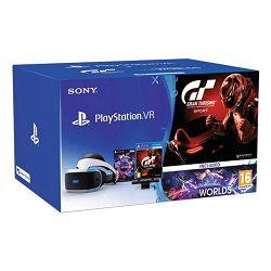 VR naočale SONY PlayStation VR + VR Worlds VCH + Gran Turismo Sport + Camera v2