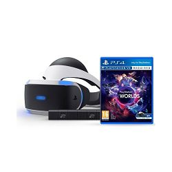 VR naočale SONY PlayStation VR + VR Worlds VCH + Camera v2/PSVR Mk3