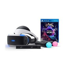 VR naočale SONY PLAYSTATION VR + VR WORLDS + KAMERA + PS Move twin pack