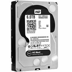 HDD Desktop WD Black (3.5, 6TB, 128MB, 7200 RPM, SATA 6 Gb/s)