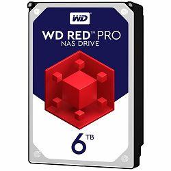 Hard disk HDD Desktop WD Red Pro (3.5, 6TB, 256MB, 7200 RPM, SATA 6 Gb/s)