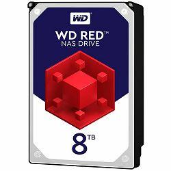 Hard disk HDD Desktop WD Red (3.5, 8TB, 256MB, 5400 RPM, SATA 6 Gb/s)