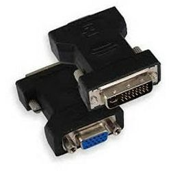 Adapter DVI m - VGA f 15 pin