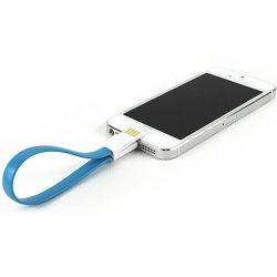 Kabel WIRETECH iPhone 5 i 6 35cm bijeli