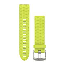 Zamjenski remen GARMIN QuickFit 20 za fenix 5S - žuti