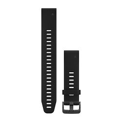 Zamjenski remen za GARMIN fenix 5S - crni (veliki)