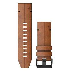 Zamjenski remen za GARMIN fenix 6x - Chestnut leather (kožni)