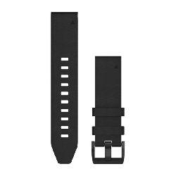 Zamjenski remen za GARMIN fenix 5 - crni kožni