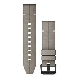 Zamjenski remen za GARMIN fenix 6S - Shale Gray kožni