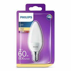 Žarulja LED PHILIPS E14, B38, 7W, topla matir