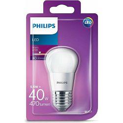 Žarulja LED PHILIPS E27, P45, 5.5W topla matir