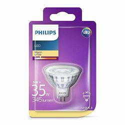 Žarulja LED PHILIPS GU5.3, 3.5W, 5W, topla 36 st.