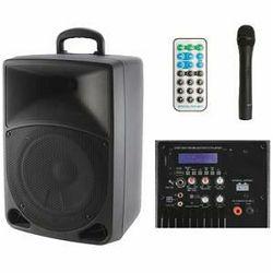 Zvučna kutija AKTIVNA SAL PAB 20A set s mikrofonom, akumulator 12V