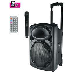 Zvučnik aktivni SAL PAB 25A set s mikrofonom, akumulator 12V