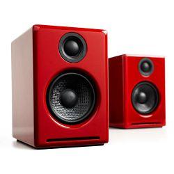 Zvučnici AUDIOENGINE A2BT bežični crveni (aktivni, par)