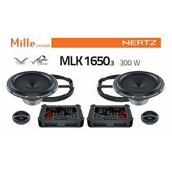 Zvučnici HERTZ Mille Legend MLK 1650.3 (ML 1650.3 + ML 280.3 + MLCX 2 TW.3 + Mrežica)
