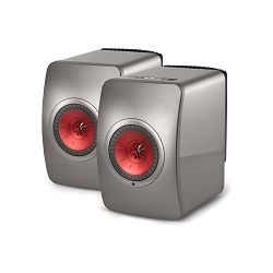Zvučnici KEF LS50 bežični titanium