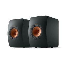 Zvučnici KEF LS50 Wireless II bežični carbon crni