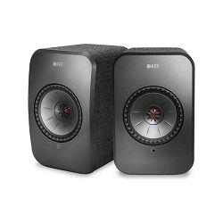 Zvučnici KEF LSX crni (Wi-Fi, Bluetooth)