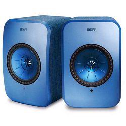 Zvučnici KEF LSX plavi (Wi-Fi, Bluetooth)