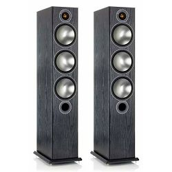 Zvučnici MONITOR AUDIO BRONZE 6 crni oak
