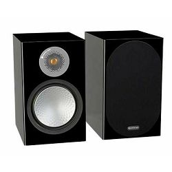 Zvučnici MONITOR AUDIO SILVER 100 high gloss crni