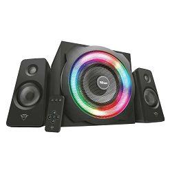 Zvučnici za PC 2.1 TRUST TYTAN RGB Illuminated crni