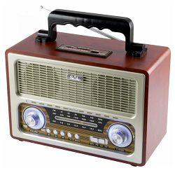 Prijenosni radio SAL RRT 3B (Bluetooth, FM radio, baterija 8h)
