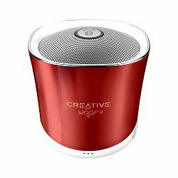 Prijenosni zvučnik CREATIVE Woof3 crveni (Bluetooth, baterija 6h)