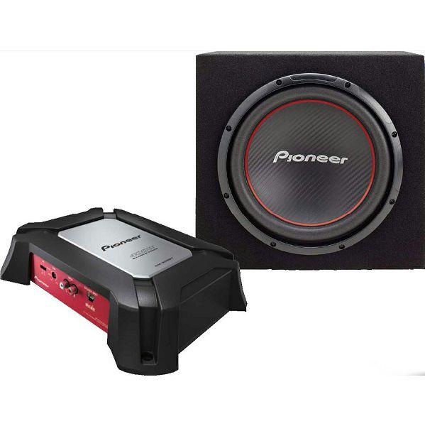 auto poja alo pioneer gxt 3604b set subwoofer. Black Bedroom Furniture Sets. Home Design Ideas