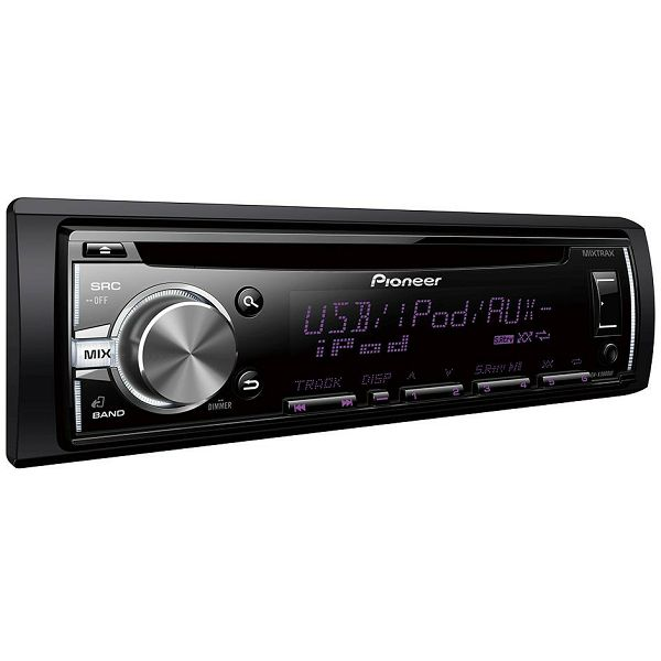 autoradio pioneer deh x3800ui usb cd mp3 aux in. Black Bedroom Furniture Sets. Home Design Ideas