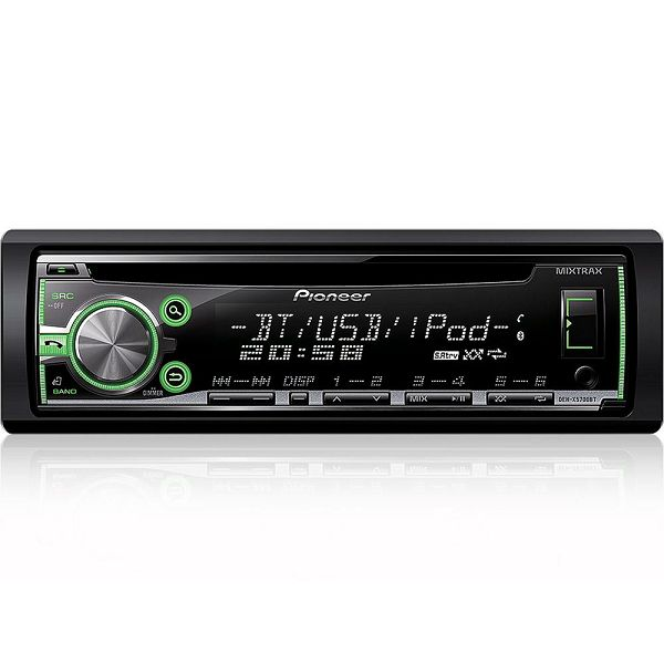 autoradio pioneer deh x5700bt bluetooth usb cd. Black Bedroom Furniture Sets. Home Design Ideas