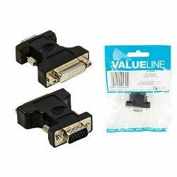 Adapter VALUELINE VLCP32901B VGA-DVI 24+5pin