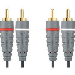 Kabel BANDRIDGE BAL4205 2 X RCA - 2 X RCA, audio kabel, 5.0M