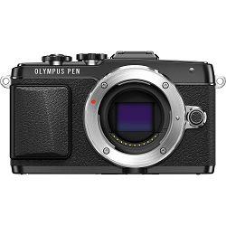 Fotoaparat OLYMPUS E-PL7 Body crni + objektiv M.Zuiko 14-42mm 1:3.5 - 5.6 II R crni