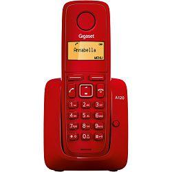 Telefon SIEMENS GIGASET A120 RED KAS