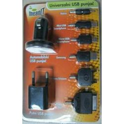 Univerzalni USB punjač MEANIT